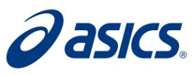 Asics логотип кампании