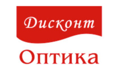 логотип дисконт оптика