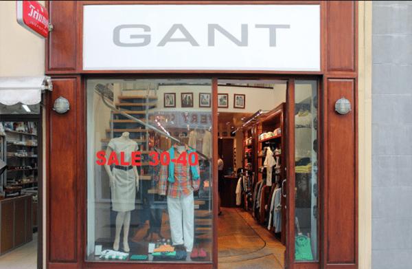gant discount магазин